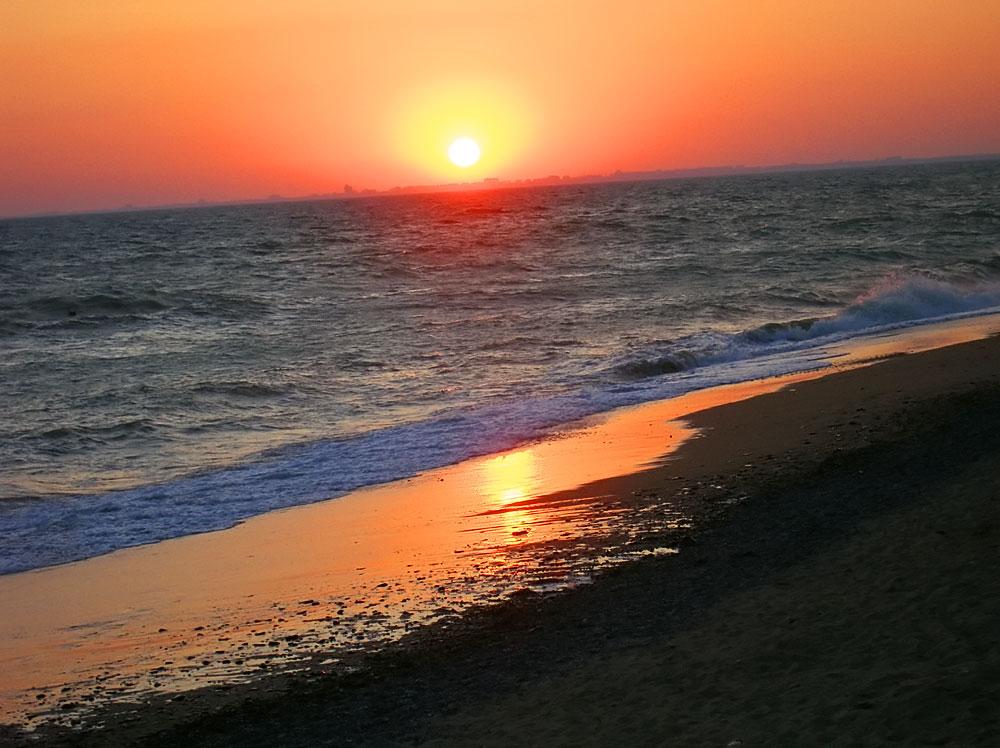 Нет не чего прекрасней Крымского заката