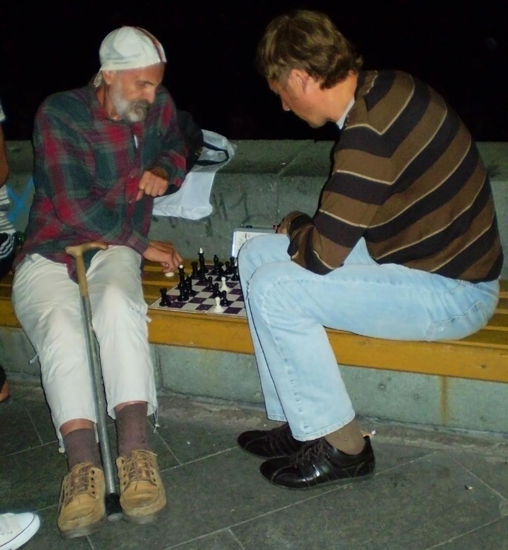 Легендарные шахматисты Ялты